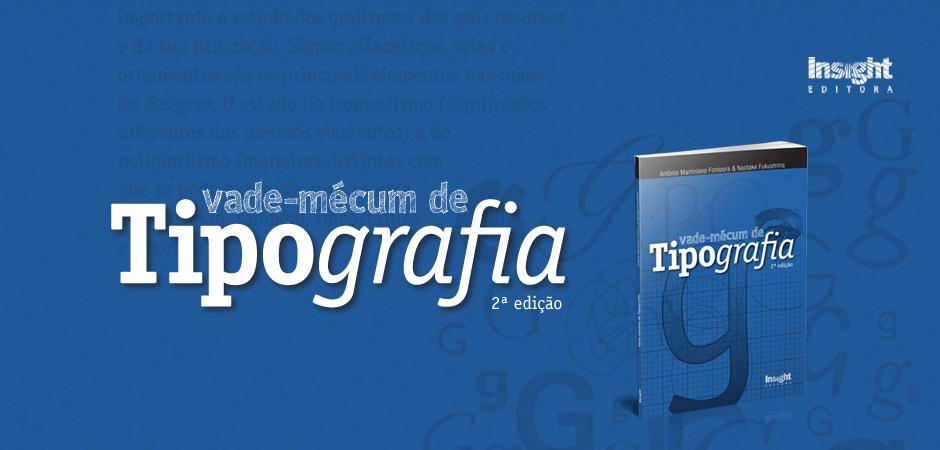 Lançamento do livro Vade-Mécum de Tipografia