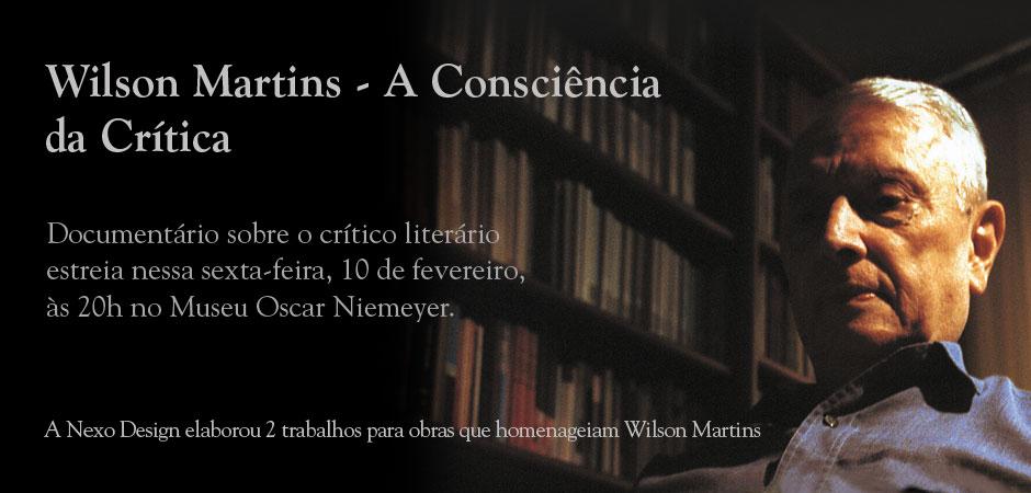 Wilson Martins  – A Consciência da Crítica