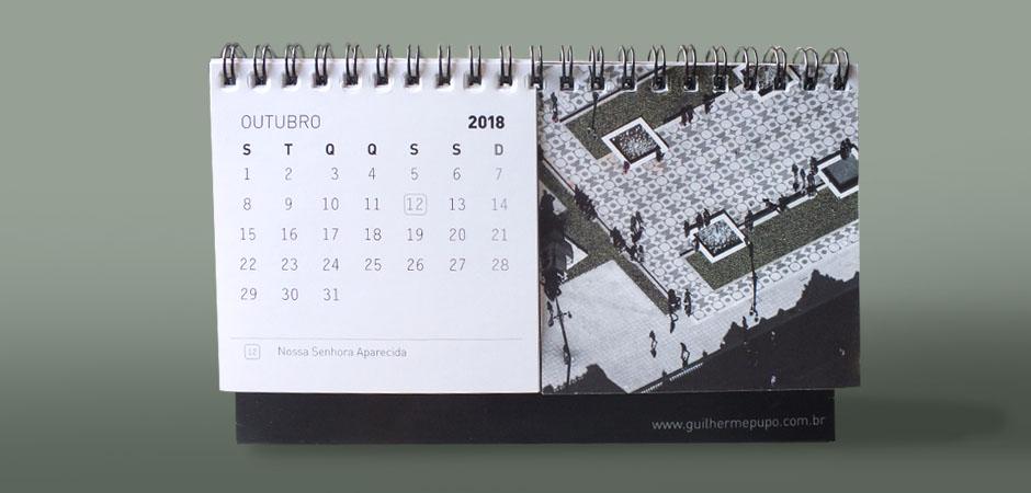 calendário Curitiba Aérea